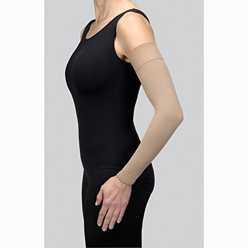 Jobst Bella Strong 20-30mmHg Arm Sleeve - black - 7 - long - nosil