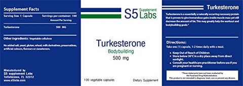 S5 Turkesterone 500 mg