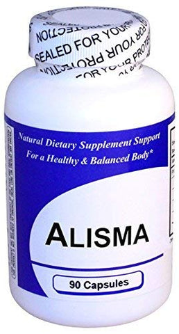Alisma (1 Bottle w/ 90 Capsules)- Concentrated Herbal Extract - Dietary Supplement by Get Well Natural