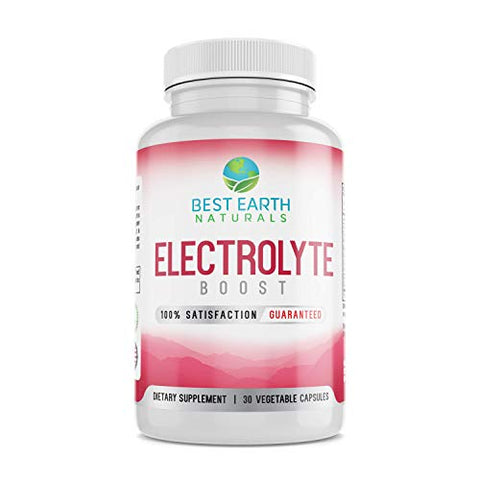 Electrolyte Support Supplement - Helps Support Electrolyte Balance with Vitamin D, Calcium, Magnesium, Sodium, Potassium, Boron and More!