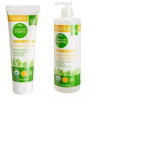 Honey Blossom Baby Shampoo & Body Wash with Lotion (Combo Pack)