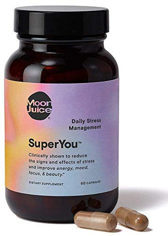 Moon Juice - SuperYou | Natural Stress Relief Supplement for Energy Mood Focus