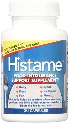Naturally Vitamins Histame Intolerance Support Supplement, 30 Capsules