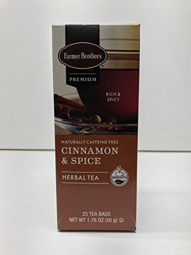 Farmer Brothers Premium: Cinnamon & Spice   6/25 Ct Boxes   150 Total Bags