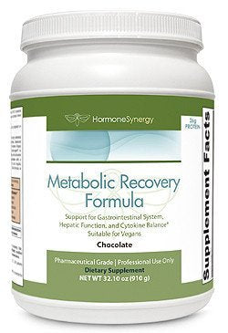Metabolic Recovery Formula Chocolate | Gastrointestinal, Hepatic and Intestinal Support* | 26g Vegan Protein | Non-GMO Pea/Rice | MeadowPure, Aminogen & Quatrefolic