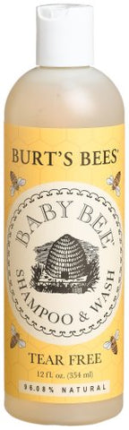 Burt's Bees Baby Bee Shampoo & Wash, Tear Free, 12-Ounce Bottles (Pack of 3)
