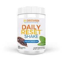 Dr. Christianson Chocolate Daily Reset Shake   Creamy Chocolate Pea Protein Powder + Vitamin B6 And