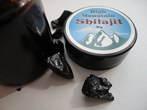Amazing High Mountain Shilajit (1-2 Month Supply) of Genuine Himalayan Shilajit in the Most Powerful, Potent Form Available Anywhere