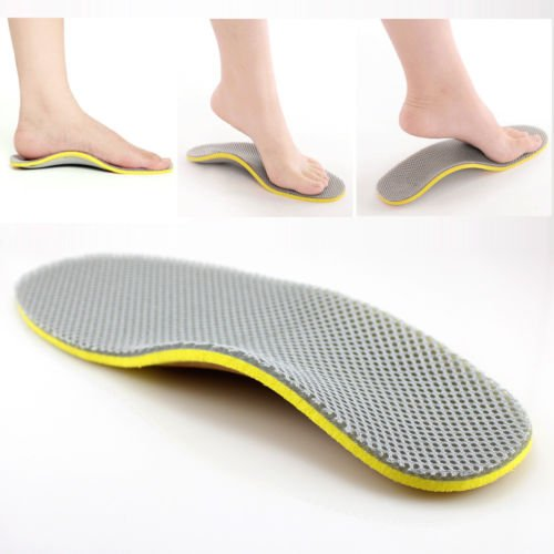 New 1pair Orthotic Arch Support Shoe Insoles Pads Pain Relief All Size