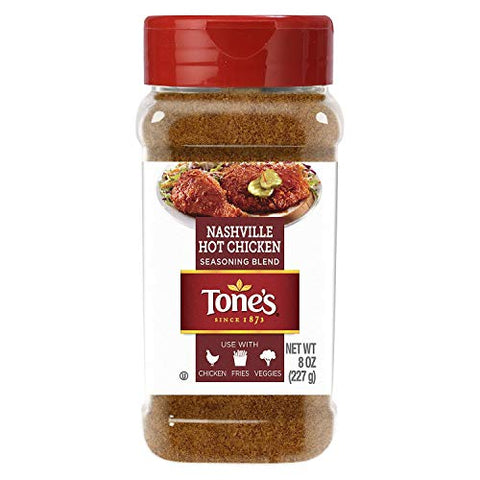 Tone's Nashville Hot Chicken Seasoning OU Kosher Certified