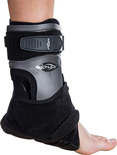 DonJoy Velocity ES (Extra Support) Ankle Brace: Standard Calf, Left Foot, Large
