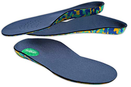 Camo Comfort Childrens Insoles For Kids With Flat Feet Who Need Arch Support By Kid Sole (Toddler Siz