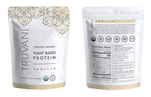 Truvani - Plant Based Protein Powder - Vanilla, Net WT 20.9oz(594 Grams)