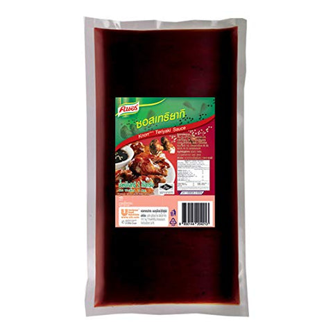 Knorr Selection 1 kg Teriyaki Sauce can be used to cook many menus.