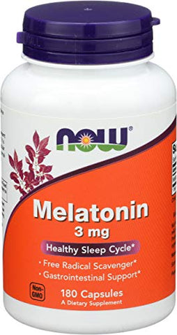 Now Foods, Melatonin 3Mg, 180 Count