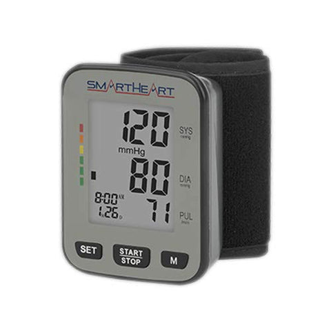 SmartHeart Talking Blood Pressure Wrist Monitor