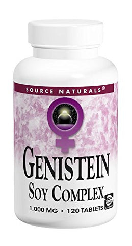 Source Naturals Genistein 1000 Mg (Eternal Woman), 60 Tablets