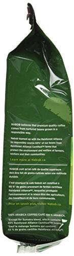 NABOB Organic Reserve Ground Coffee, 300g {Imported from Canada}