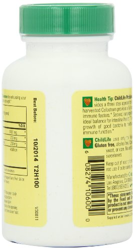 Child Life Essentials Colostrum With Probiotics For Infants, Babys, Kids, Toddlers, Children, And Tee