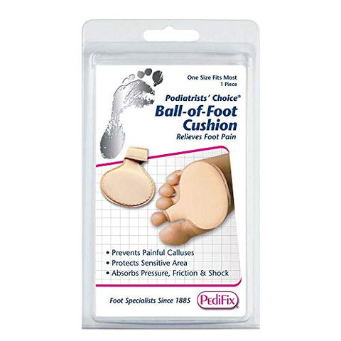 PediFix Podiatrists' Choice Ball-of-Foot Cushion - One Size Fits Most