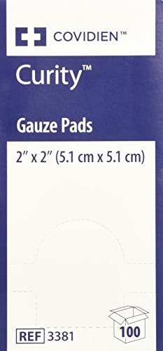 MCK33882000 - Sponge Dressing Curity Gauze 12-Ply 2 X 2 Inch Square