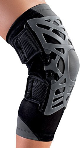 DonJoy Reaction Web Knee Support Brace with Compression Undersleeve: Blue, Medium/Large