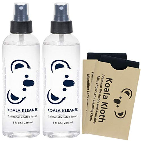 Koala Kleaner Alcohol Free Eyeglass Lens Cleaner Spray Care Kit | Proudly Usa Made | Ultra Gentle, H