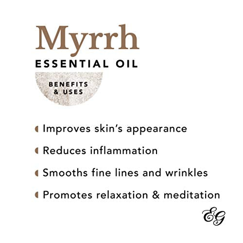 Edens Garden Myrrh Essential Oil, 100% Pure Therapeutic Grade (Highest Quality Aromatherapy Oils- Inflammation & Skin Care), 30 ml