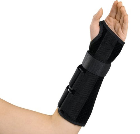Medline Wrist and Forearm Splint, Left, Small
