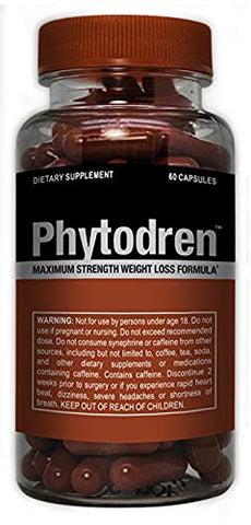 Phytodren - Hardcore Weight Loss - Burn Fat - Boost Energy Levels - Eat Less