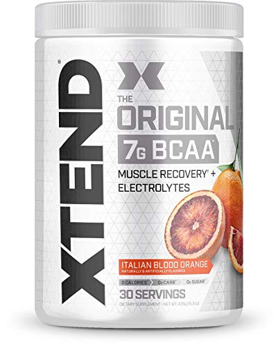 Xtend Original Bcaa Powder Italian Blood Orange | Sugar Free Post Workout Muscle Recovery Drink With