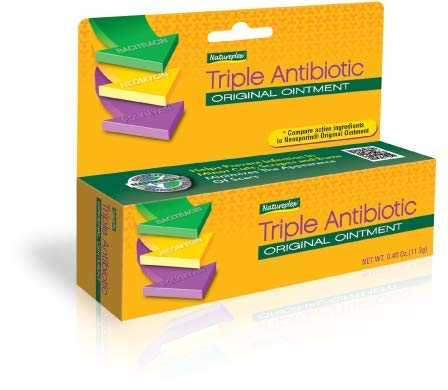 Natureplex Triple Antibiotic Original Ointment 0.33 Ounce Tube 6 Pack