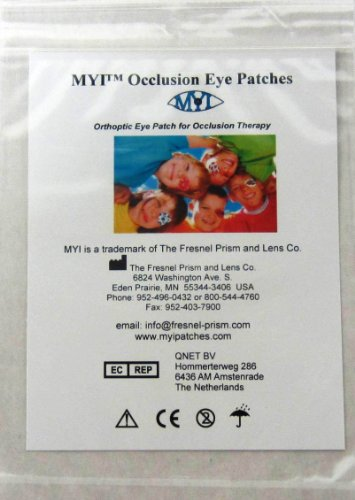 Myi Girls #2 Eye Patches   Junior Size (51 Per Package)