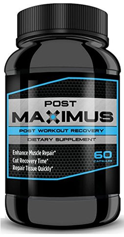 POSTMAXIMUS - Substantially Cut Recovery time, Boost Muscle Repair to The MAX with MAX Potency! Stack with Megamaximus and Testmaximus for Ultimate Results!