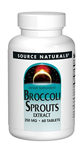 Source Naturals Broccoli Sprouts Extract 250 Mg Sulforaphane   60 Tablets
