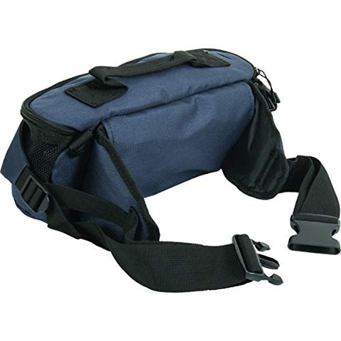 Roscoe Medical-48N Oxygen Cylinder Fanny Pack/Shoulder Bag for ML6, M7 Oxygen Cylinders, Navy Blue