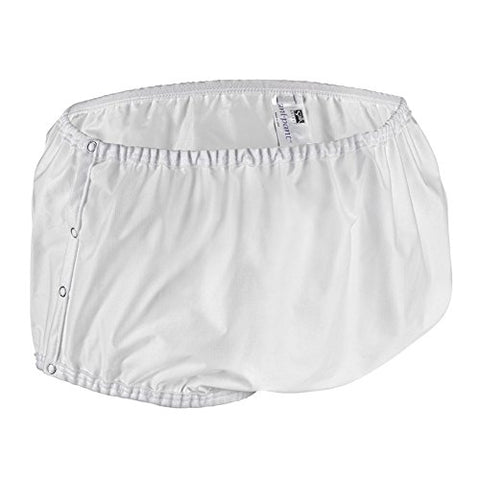 Salk Sani-Pant Cover-Up Diaper Cover, Snap-On, Large, Each