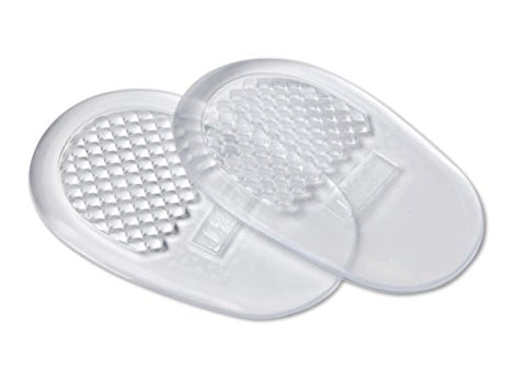 NatraCure Never Slip Flexible Gel Heel Cushion - (1 Pair) - (Self-adhesive Pad Protects & Relieves Pressure, Friction, and Pain in Women's Shoes)