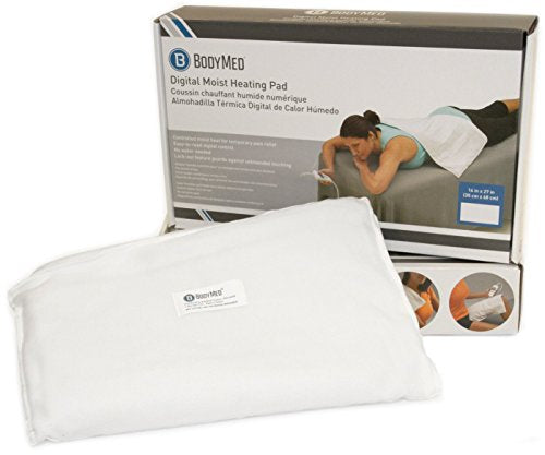 Body Med Digital Moist Heating Pad With Auto Shut Off, Heating Pad For Neck And Shoulders, Back Pain