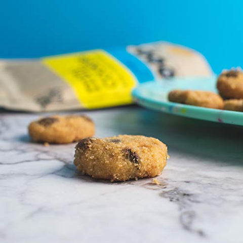 High Key Snacks Keto Food Low Carb Snack Cookies, Chocolate Chip, 3 Pack   Gluten Free & No Sugar Add