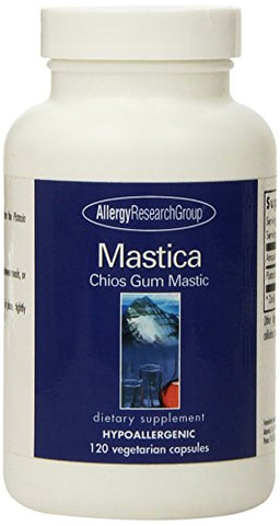 Allergy Research Group Mastica Chios Gum Mastic - 500 mg - 120 Capsules
