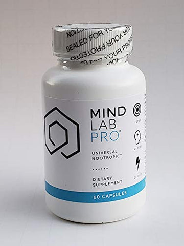 Mind Lab Pro - Brainpower - Enhanced Memory Focus Clarity - Full Spectrum Nootropics - Whole-Life Mental Performance