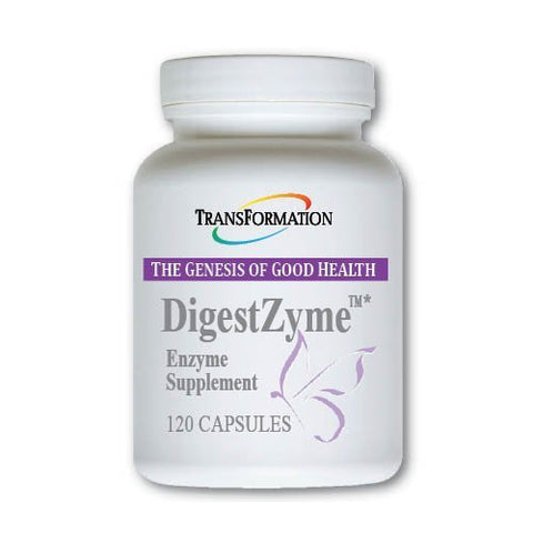 Transformation Enzymes DigestZyme - Support Digestion During Pregnancy and Lactation and Children's Digestive Issue (120)