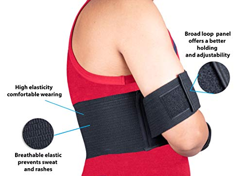 Wonder Care Left Right Shoulder Immobilizer Arm Sling Elastic Brace For Clavicle Collar Bone Disloca