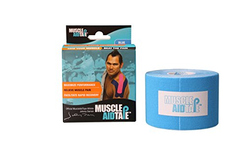 Muscle Aid Tape Kinesiology Tape (Blue)