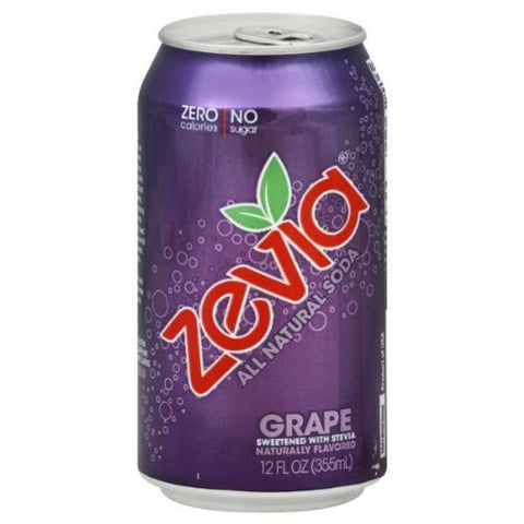Zevia Grape Soda (4x6Pack ) by Zevia