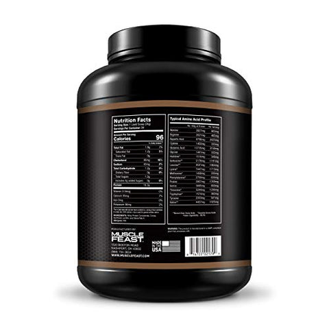 Hormone Free Grass Fed Chocolate Whey Protein Concentrate 5lb