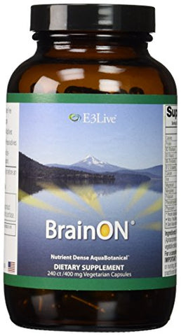 E3Live BrainOn, 240 Count