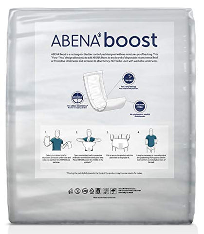 Abena Boost Booster Pads, Maxi Absorbency, Pack/20