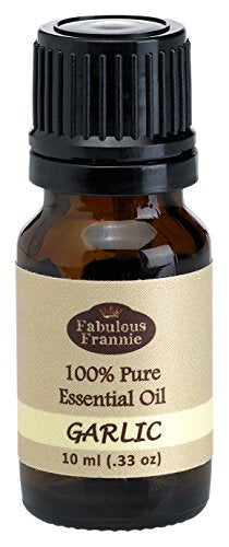 Garlic 100% Pure, Undiluted Essential Oil Therapeutic Grade   10ml  Great For Aromatherapy!
